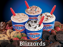 Dairy Qeen Blizzards
