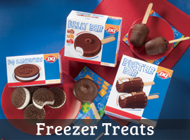Dairy Queen Freezer Treats