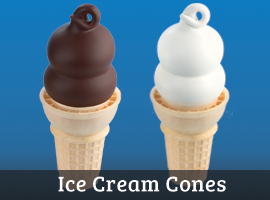 Dairy Queen Ice Cream Cones