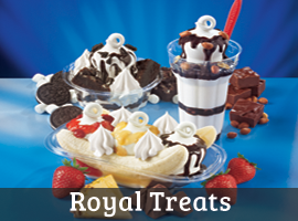 Dairy Queen Royal Treats