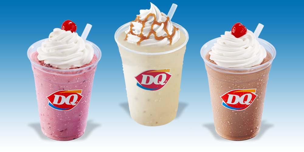 Dairy Queen Malts and Shakes